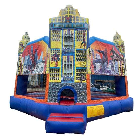 Spiderman City Bounce House